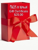 $25 Gift Certificate for Faces by Brandi Products and Services